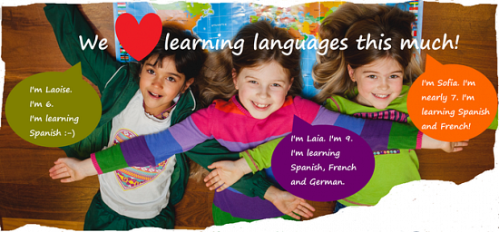 Which language is best for Irish kids to learn?